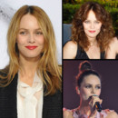 Montage look beaut bohme chic de Vanessa Paradis coiffure 