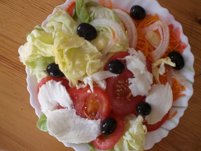 Salade l g re rapide r aliser cuisine for Entrees legeres