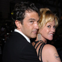 Photo : Antonio Banderas et Melanie Griffith au Festival de Cannes