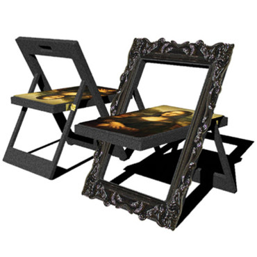 d co insolite la chaise mona lisa news d co d co. Black Bedroom Furniture Sets. Home Design Ideas