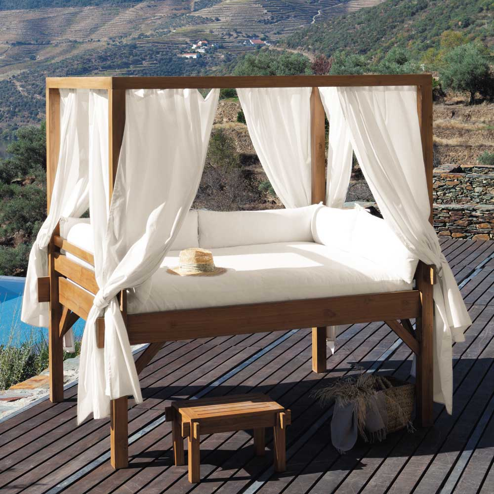 D co outdoor 10 meubles originaux pour se pr lasser en for Maison du monde outdoor