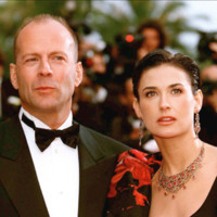 Photo : Bruce Willis et Demi Moore au Festival de Cannes