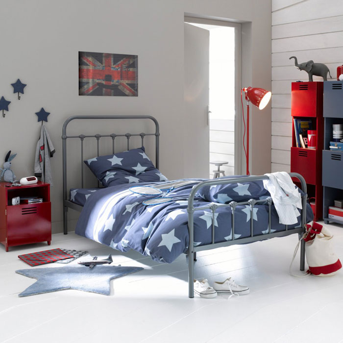 chambre d 39 enfant les plus jolies chambres de gar on une chambre made in usa la redoute. Black Bedroom Furniture Sets. Home Design Ideas