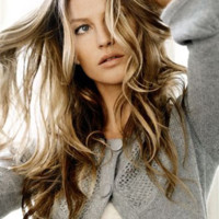 Le top model Gisele Bundchen grie de Vero Moda