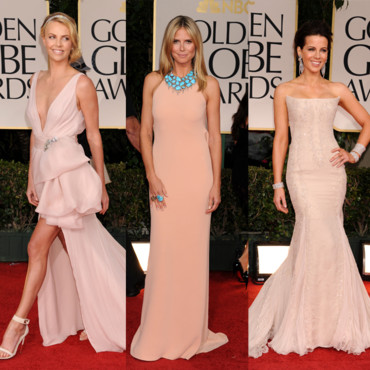 Golden Globes le nude Charlize Theron Kate Beckinsale Heidi Klum