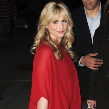 Sarah Michelle Gellar pour le Late Show with David Letterman février 2012