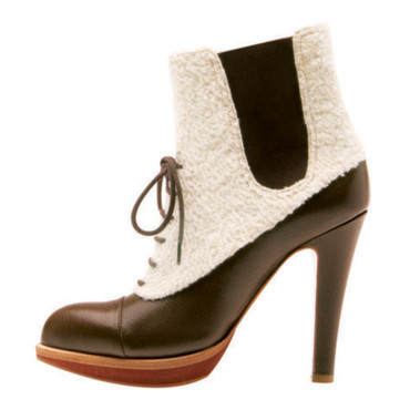 Boots en mouton Michel Perry 645e