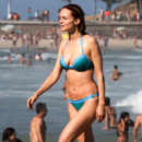 Heather Graham en bikini au Brésil