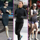 sportives jogging Amanda Seyfried Pippa Middleton Christy Turlington