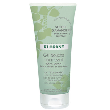 Gel douche nourrissant Secret d'Amandier de Klorane