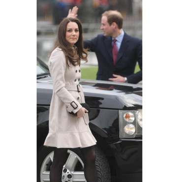 Kate Middleton et William à Belfast