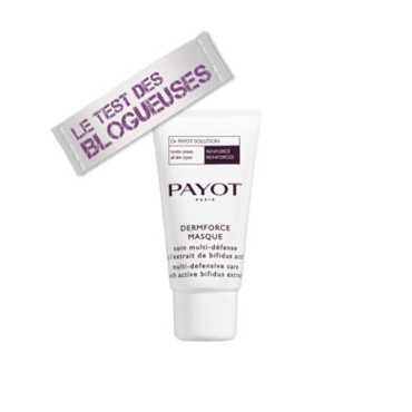 Masque soin lissant raffermissant Payot