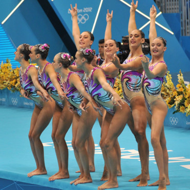 natation syncronisée jeux olympiques 2012 équipe Angleterre