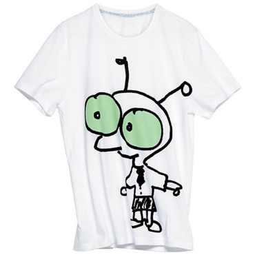 T-shirt designé par Moby pour la collection H&M contre le Sida