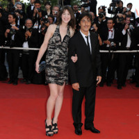 Photo : Charlotte Gainsbourg et Yvan Atall au 62me festival de Cannes