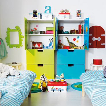 nouveaut s ikea les chambres d 39 enfants l 39 honneur grande armoire stuva ikea d co. Black Bedroom Furniture Sets. Home Design Ideas