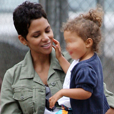 Halle Berry et et sa petite fille Nahla Aubrey