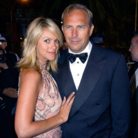 Photo : Kevin Costner et sa petite amie Christine Baumgartner au Festival de Cannes