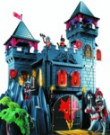 Chateau du dragon rouge Playmobil