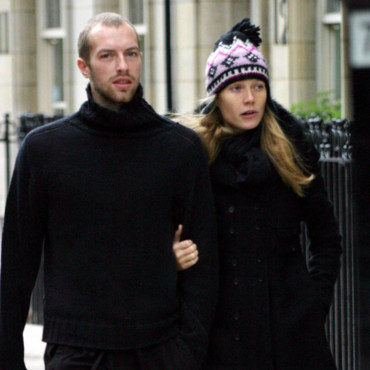 Gwyneth Paltrow et Chris Martin le 14 juillet 2003 à Londres