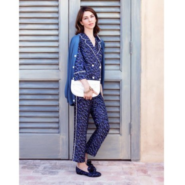 Sofia Coppola pour Louis Vuitton- look pyjama