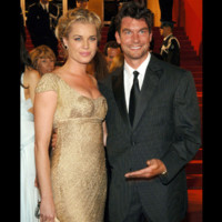 Photo : Rebecca Romijn et Jerry O'Connell au Festival de Cannes