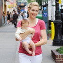 Kelly Rutherford et sa petite fille Helena Grace
