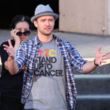 "Justin Timberlake fait une apparition au ""Stand up to Cancer"", événement de charité à Los Angeles, CA, USA. Photo prise le 7 september 2012."