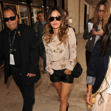 Fashion Week à NY - Rachel Bilson porte un top Isabel Marant