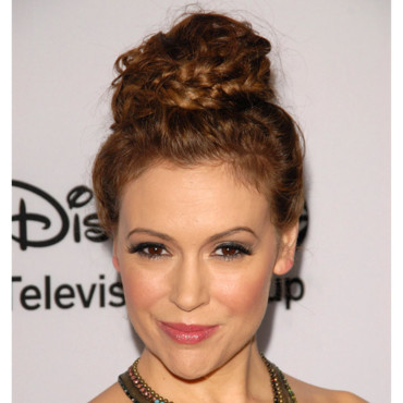 Alyssa Milano au TCA Winter press Tour de Dsiney ABC Television le 10 janvier 2013