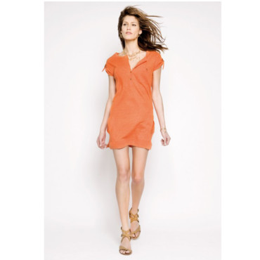 Robe orange Bérénice