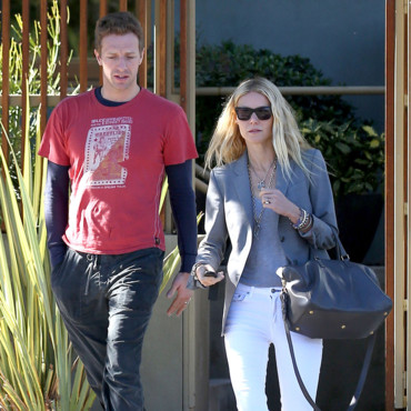 Gwyneth Paltrow et Chris Martin le 25 octobre 2012 à Los Angeles