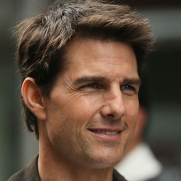 Tom Cruise sur le tournage d'Oblivion à New-York en 2012