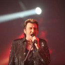 Johnny à Montbéliard, en octobre 2009