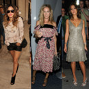 Fashion Week  NY - Rachel Bilson Sarah Jessica Parker et Jessica Alba
