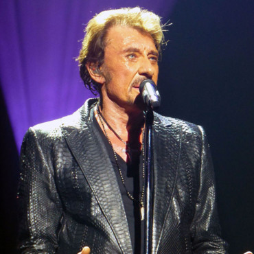 Johnny Hallyday, à Londres en octobre 2012