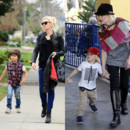 Kingston James et Zuma, fils de Gwen Stefani