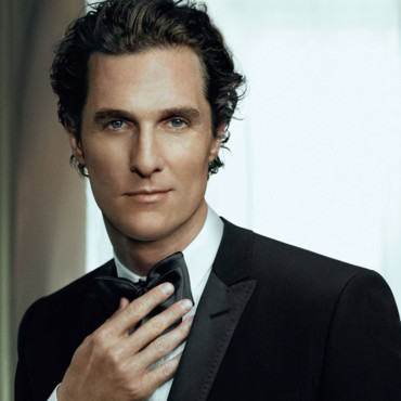 Matthew McConaughey pour le parfum D&G The One Gentleman