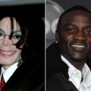 people : Michael Jackson et Akon