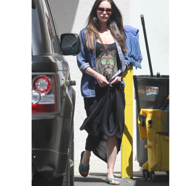 megan fox enceinte
