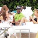 Spike Lee en famille à Miami