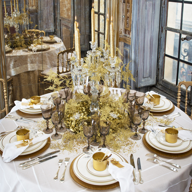 Table de no l les nouvelles tendances pour no l 2012 for Decoration de table de noel