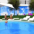 Secret Story : la piscine en 3D