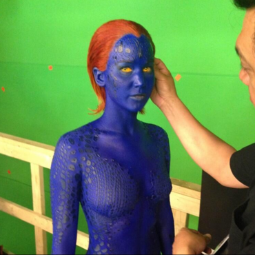 Jennifer Lawrence en Mystique