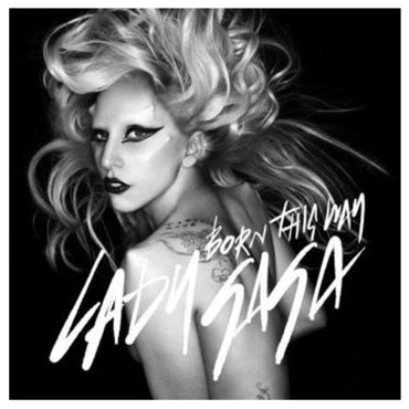 Lady Gaga pour Born this Way