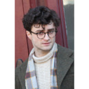 Daniel Radcliffe tournage Kill your darlings NY mars 2012cheveux longs