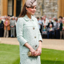 Kate Middleton, le 21 avril 2013 lors d'un rassemblement scout à Windsor.