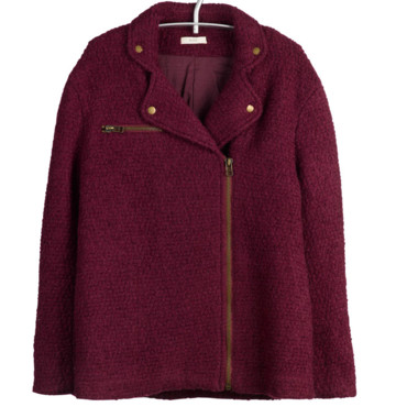 Manteau ample cherry By Zoe