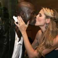 Photo : Seal et Heidi Klum