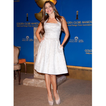Sofia Vergara Golden Globes Nominations - 15 decembre Los Angeles